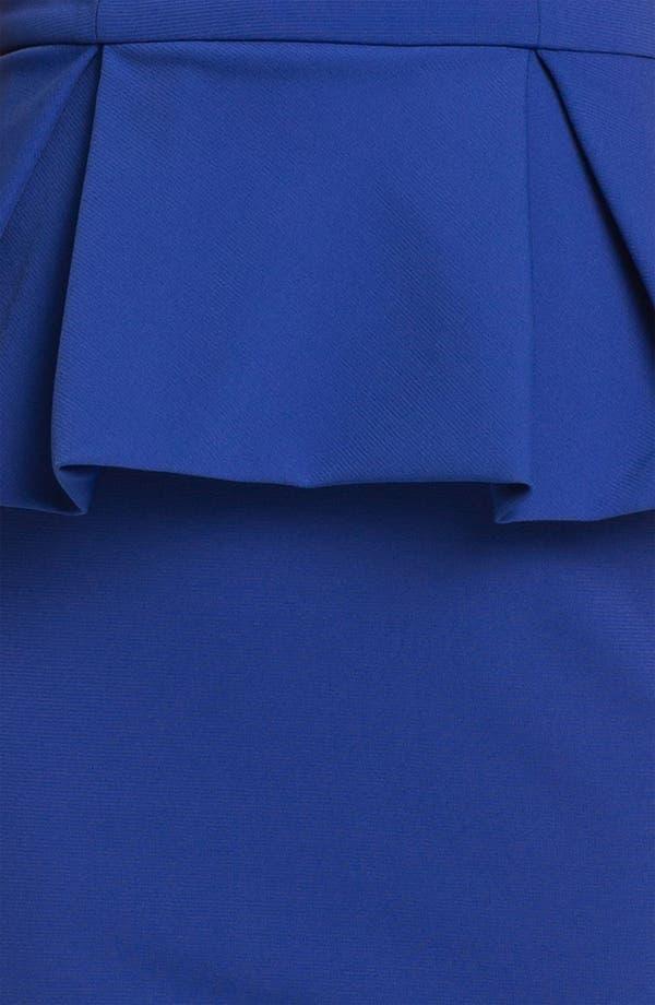Alternate Image 3  - Robert Rodriguez Pleated Peplum Dress