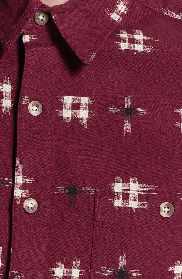 Alternate Image 3  - Topman 'Ronald Ikat' Woven Shirt