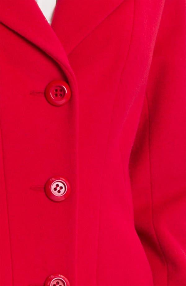 Alternate Image 3  - Kristen Blake Single Breasted Walking Coat