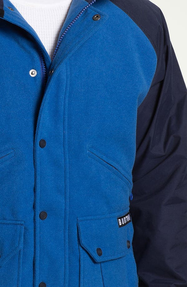 Alternate Image 3  - Burton 'B-Side' Varsity Jacket