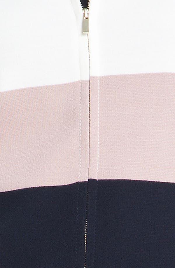 Alternate Image 5  - St. John Collection Colorblock Milano Knit Scuba Jacket