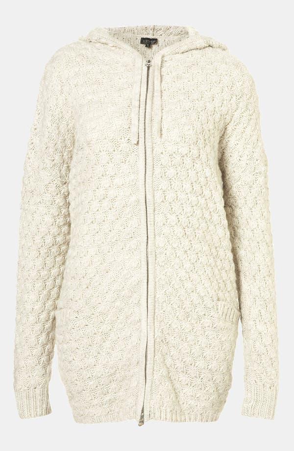 Alternate Image 1 Selected - Topshop Chunky Sweater Hoodie