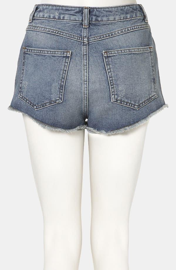 Alternate Image 2  - Topshop Moto 'Holly' Denim Shorts