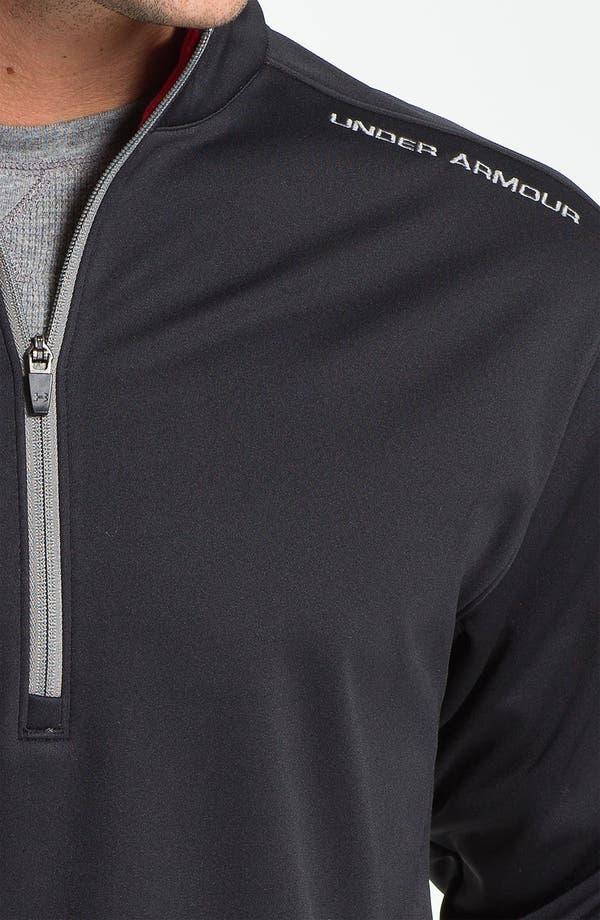 Alternate Image 3  - Under Armour 'ColdGear® Elements - Storm' Quarter Zip Jacket