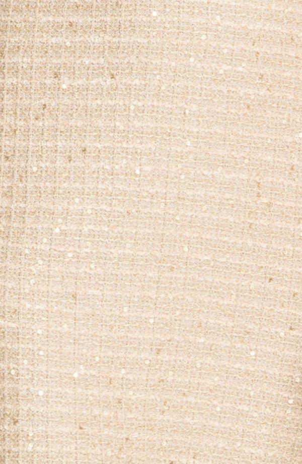 Alternate Image 3  - St. John Collection Sequin Metallic Knit Dress
