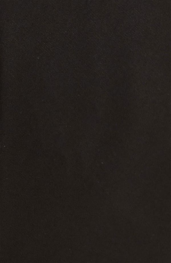 Solid Cotton Tie,                             Alternate thumbnail 2, color,                             Black
