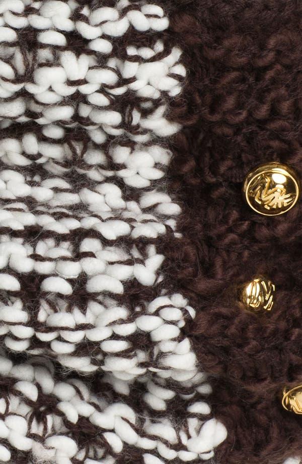 Alternate Image 2  - MICHAEL Michael Kors Three Button Neck Warmer