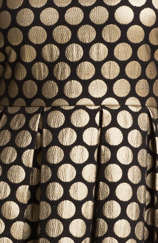 Alternate Image 3  - Vince Camuto Dot Jacquard Dress