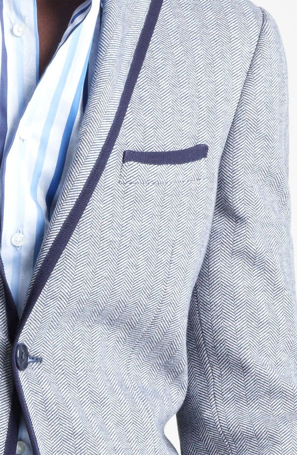Alternate Image 4  - Etro Herringbone Cotton Blazer