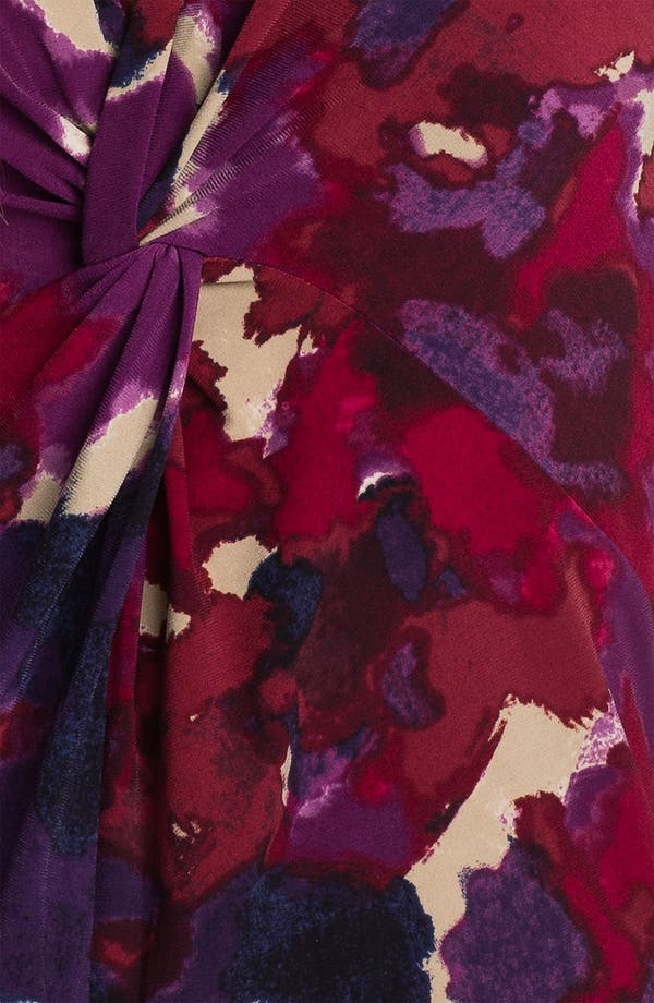 Alternate Image 3  - Anne Klein V-Neck Floral Print Top (Petite)