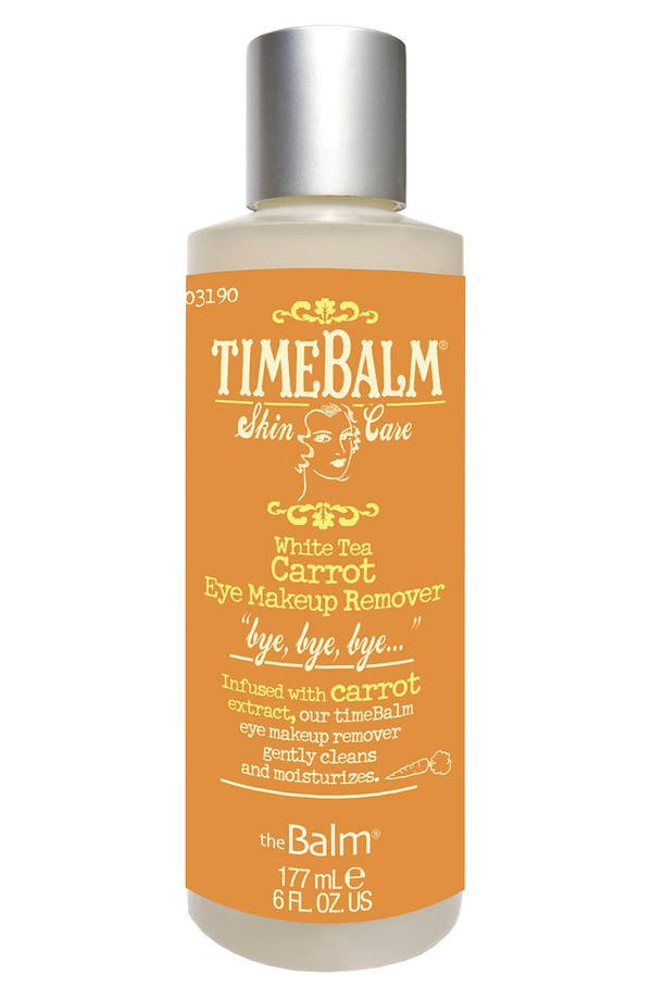 Alternate Image 1 Selected - theBalm 'TimeBalm®' Carrot Eye Makeup Remover