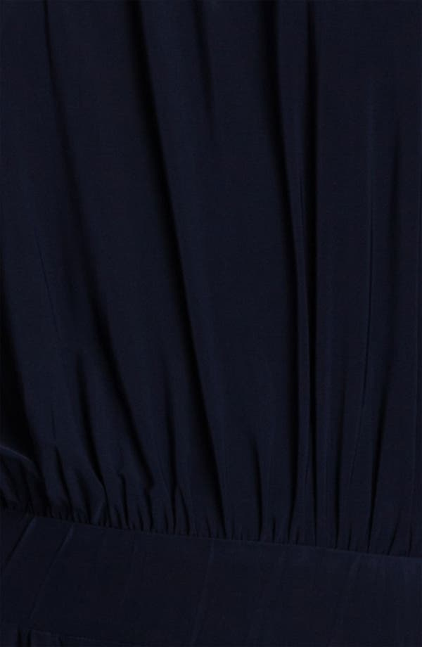 Alternate Image 3  - Tbags Los Angeles Tie Shoulder Jersey Jumpsuit
