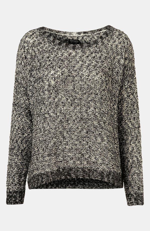 Main Image - Topshop Boxy Tweed Knit Sweater
