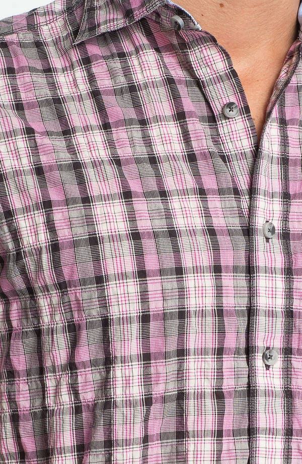 Alternate Image 3  - James Campbell 'Moclips' Plaid Sport Shirt