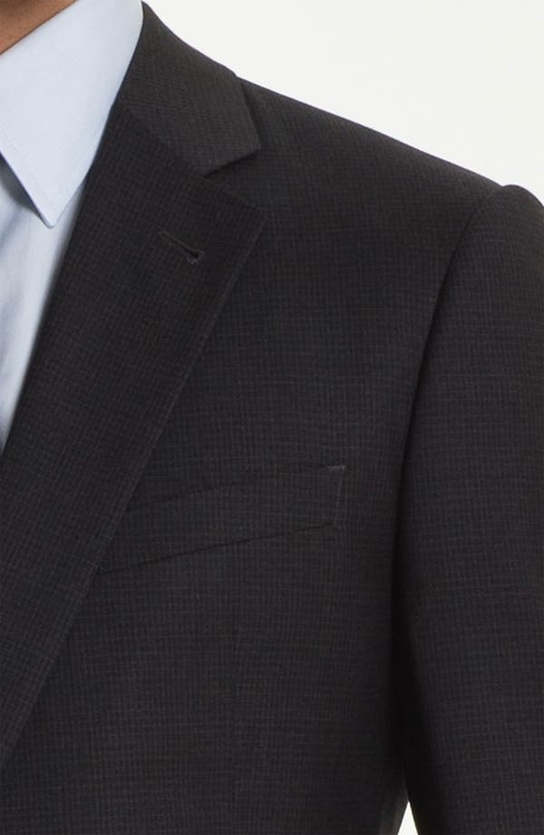 Alternate Image 6  - Armani Collezioni Trim Fit Wool Suit