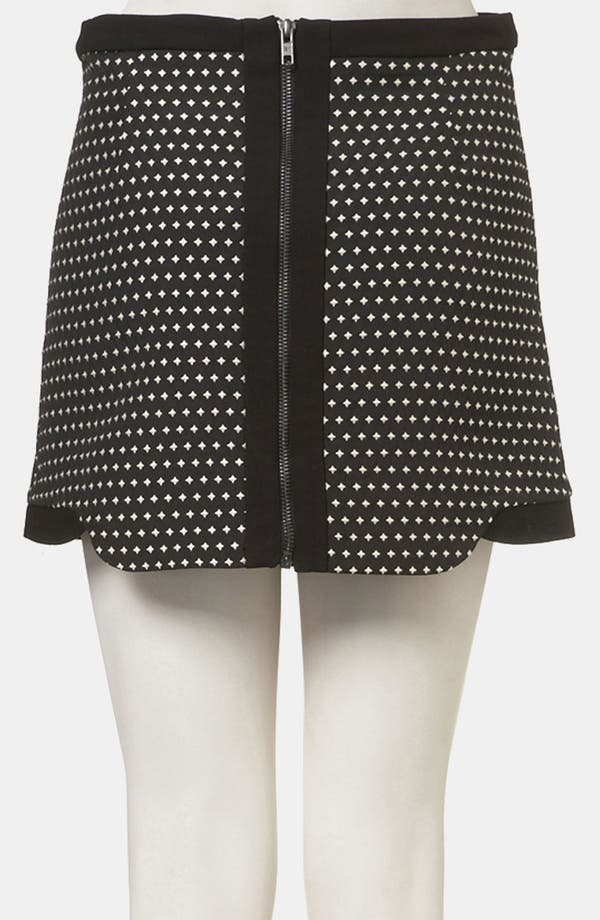 Alternate Image 2  - Topshop Star Jacquard Skirt
