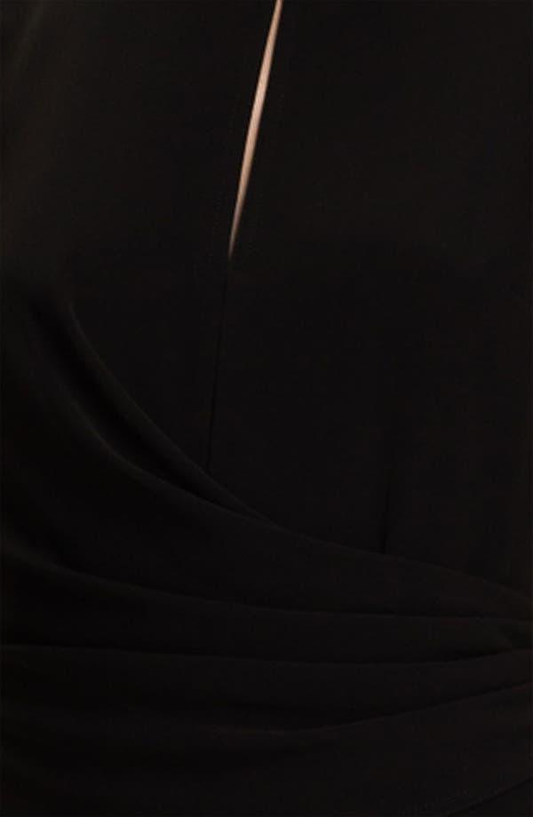 Alternate Image 3  - St. John Collection Draped Waist Crepe Dress
