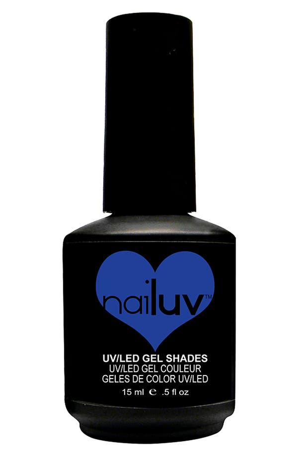 Alternate Image 1 Selected - NaiLuv™ 'Blue Without You' Gel Nail Polish