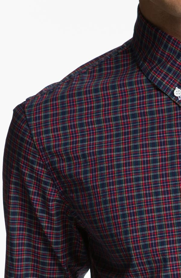 Alternate Image 3  - Band of Outsiders Plaid Sport Shirt