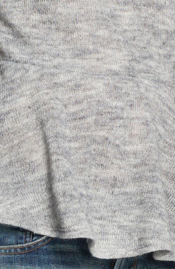 Alternate Image 3  - Gibson Peplum Sweater