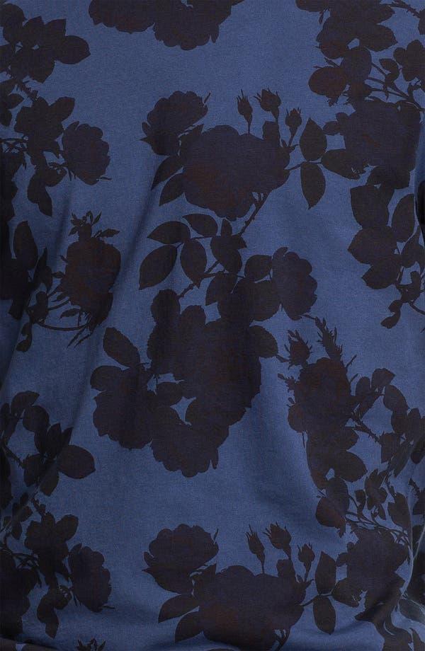 Alternate Image 3  - Topman 'High Roller' Allover Floral Print T-Shirt