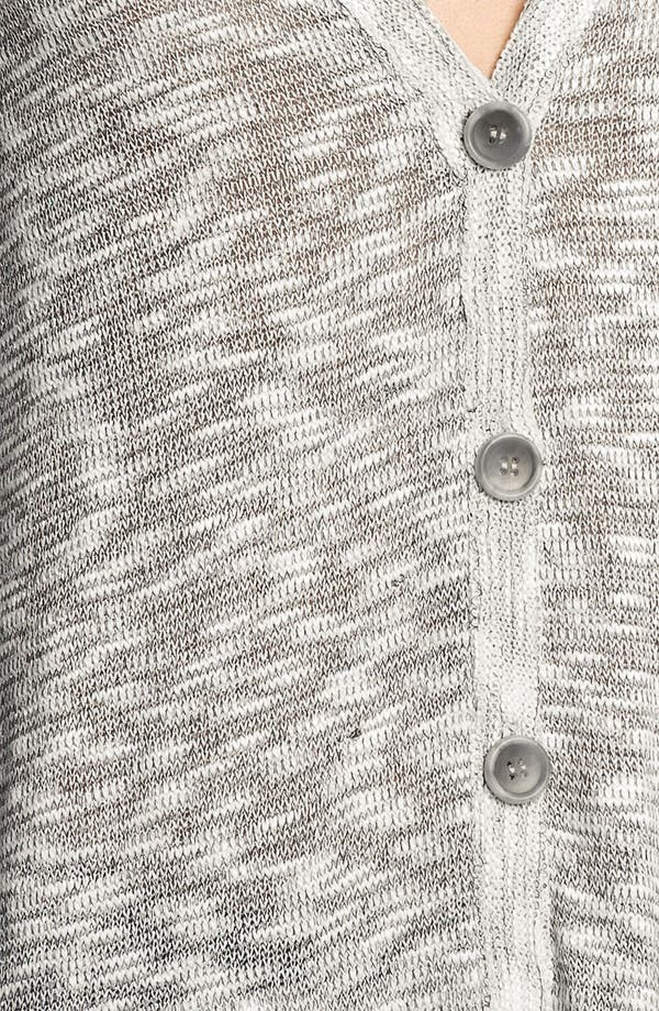 Alternate Image 3  - Soft Joie 'Ambra' Metallic Slub Cardigan
