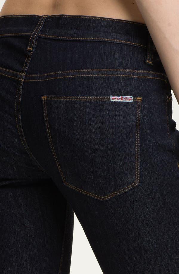 Alternate Image 3  - Hudson Jeans 'Juliette' Ankle Zip Super Skinny Jeans (Rinse)