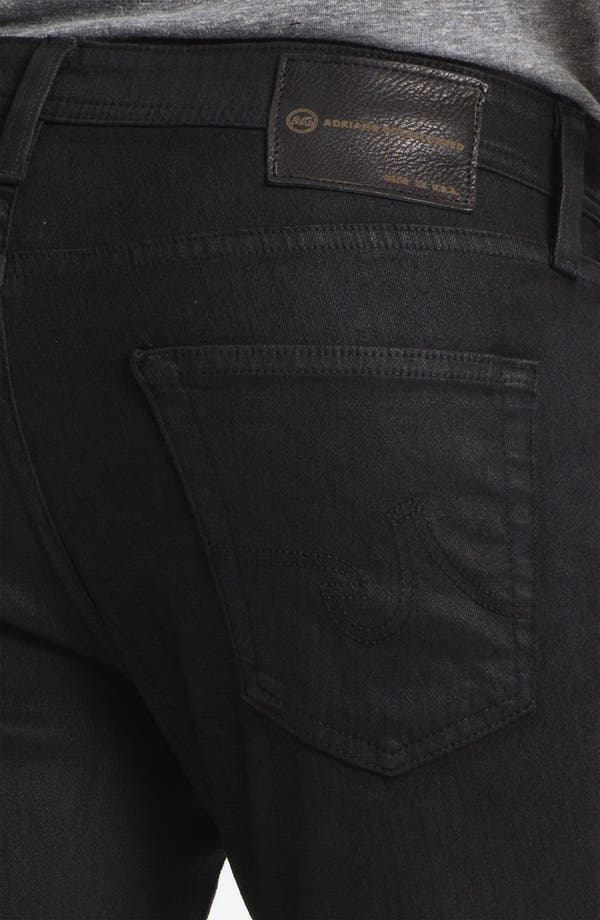 Alternate Image 4  - AG Jeans 'Matchbox Slim' Straight Leg Jeans (Coal)