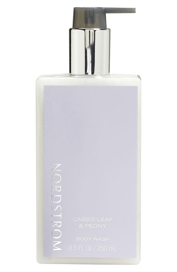 Alternate Image 1 Selected - Nordstrom 'Cassis Leaf & Peony' Body Wash