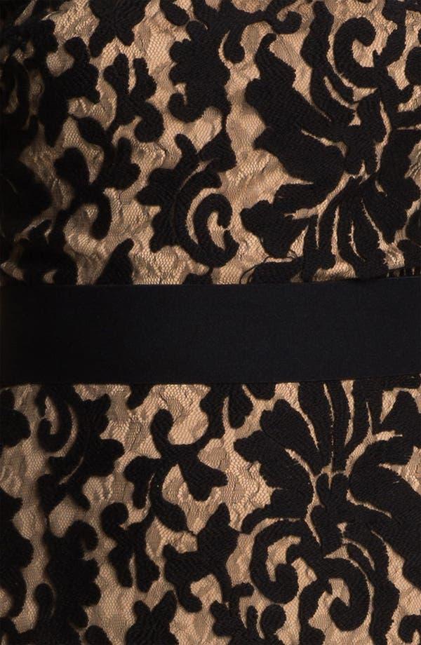 Alternate Image 3  - Tadashi Shoji Textured Lace Dress