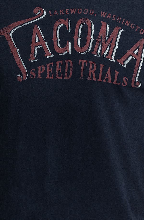 Alternate Image 3  - Denim & Leathers by Andrew Marc 'Tacoma Speed Trials' Graphic T-Shirt