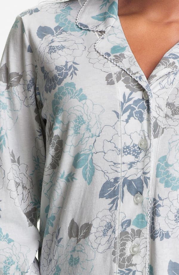 Alternate Image 3  - Carole Hochman Designs 'Airbrushed Floral' Pajamas