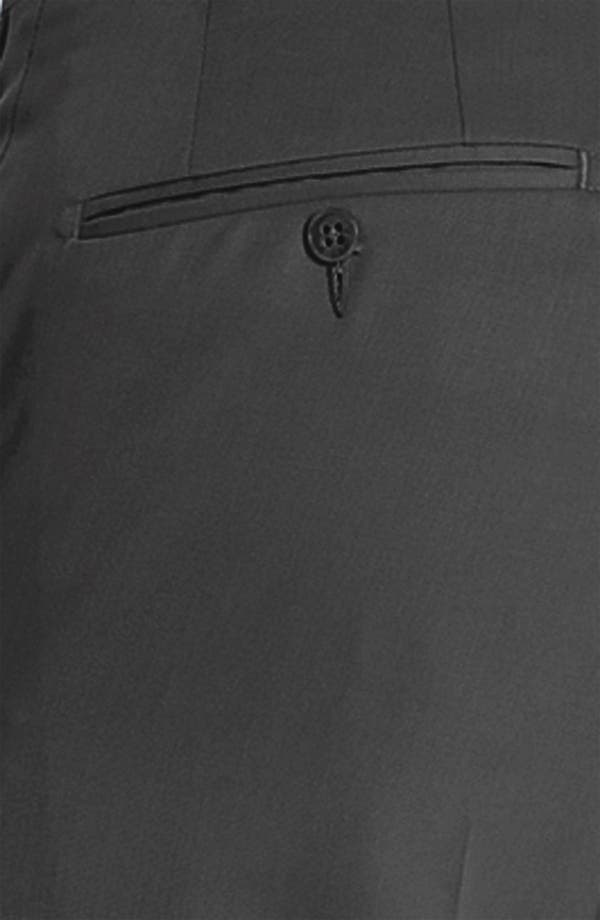 Alternate Image 3  - JB Britches Pre-Hemmed Flat Front Trousers