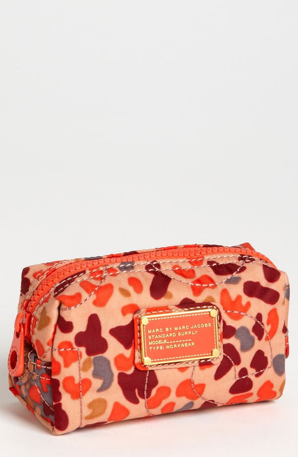 Alternate Image 1 Selected - MARC BY MARC JACOBS 'Pretty Nylon - Camo Garden Narrow' Cosmetics Case
