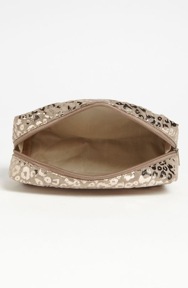 Alternate Image 2  - BP. Metallic Taupe Leopard Print Pouch