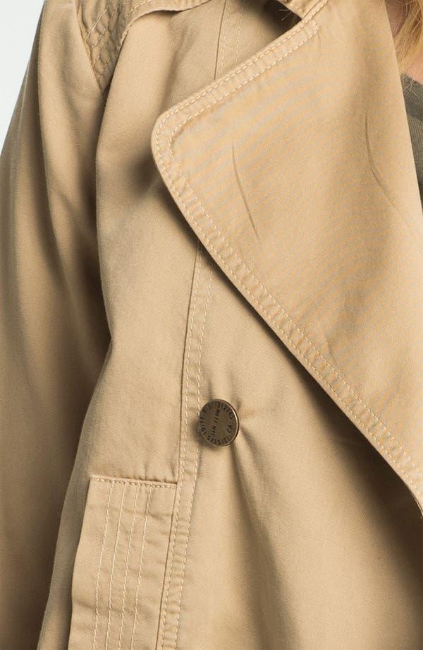 Alternate Image 3  - Current/Elliott Shrunken Trench Coat