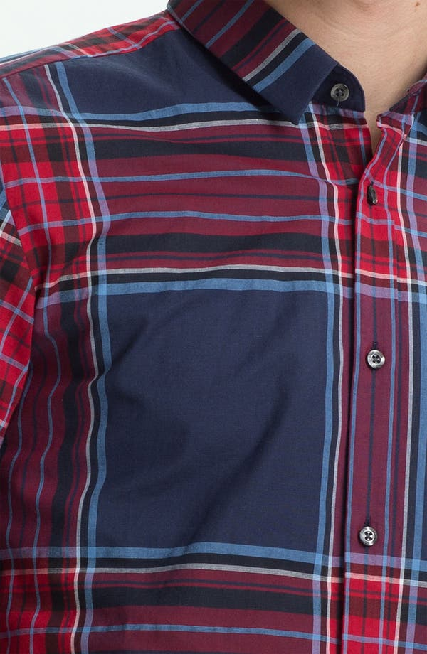 Alternate Image 3  - HUGO  'Ero' Slim Fit Sport Shirt