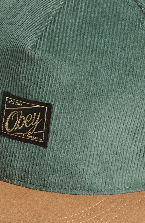 Alternate Image 2  - Obey 'Ralph Luxe' Baseball Cap