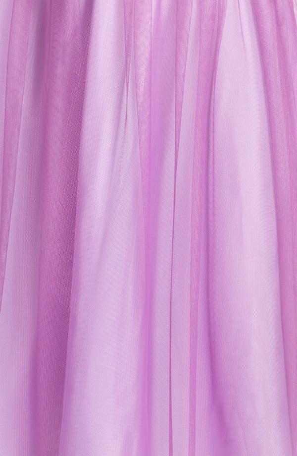 Alternate Image 3  - Donna Morgan 'Hazel' Surplice Tulle Dress