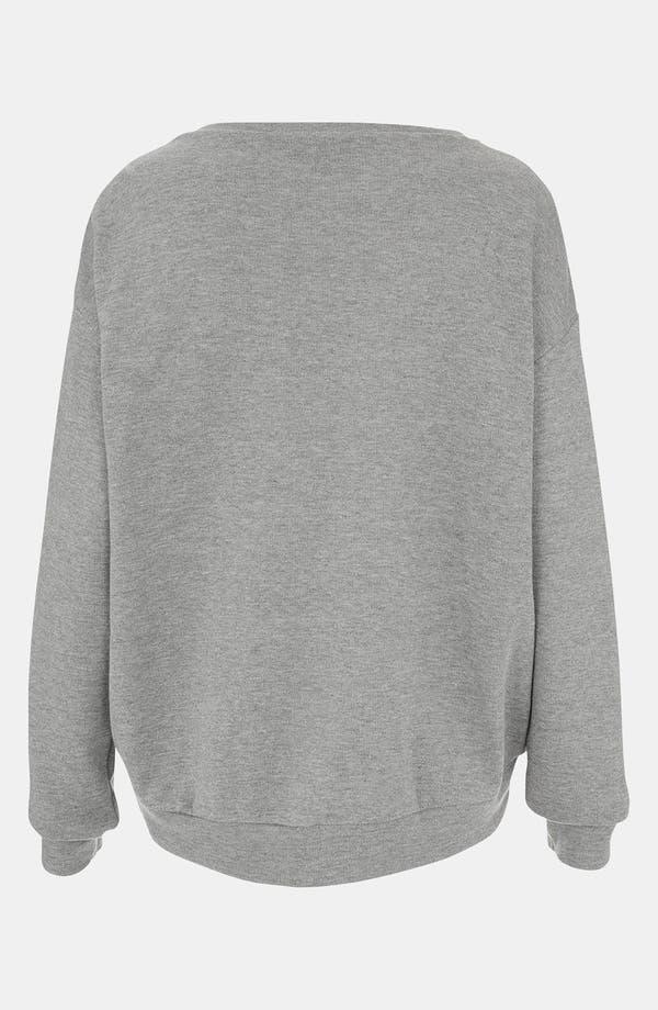 Alternate Image 2  - Topshop 'Galactic' Rhinestone Embellished Sweatshirt