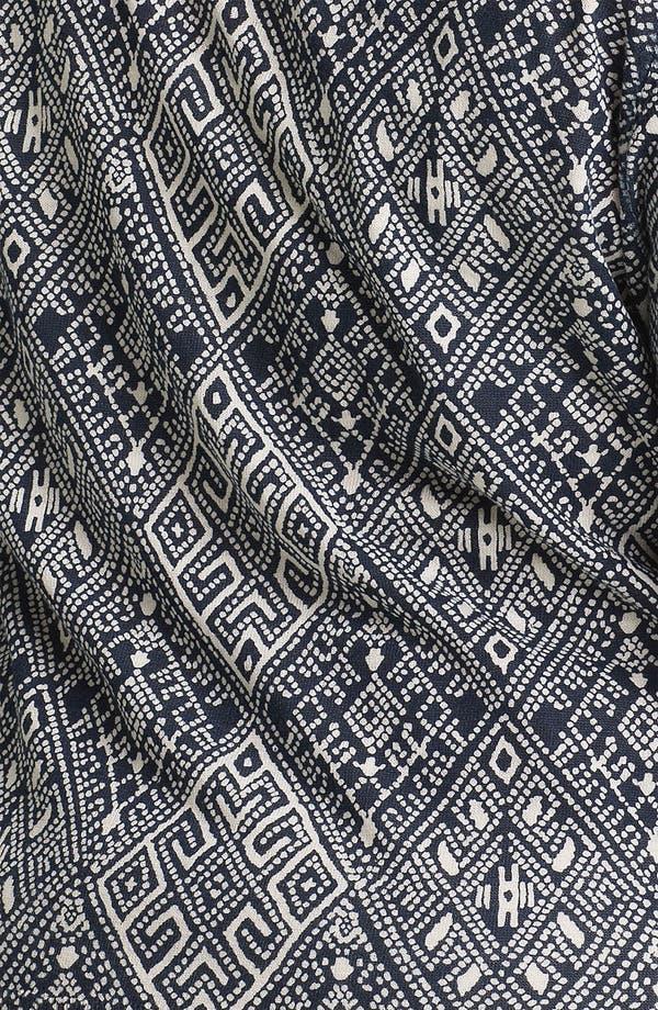 Alternate Image 3  - Lucky Brand Print Cardigan (Plus Size)