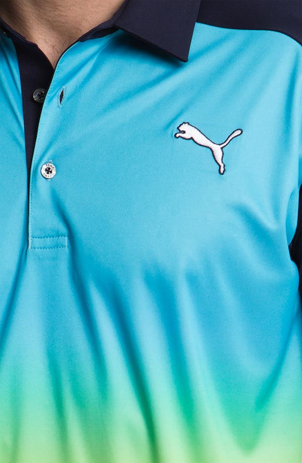 Alternate Image 3  - PUMA GOLF 'Ombré' dryCELL™ Tech Polo