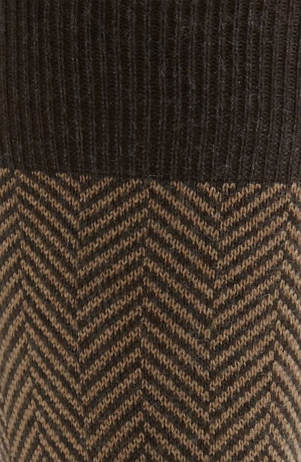Alternate Image 2  - Pantherella 'Vintage Collection' Herringbone Socks