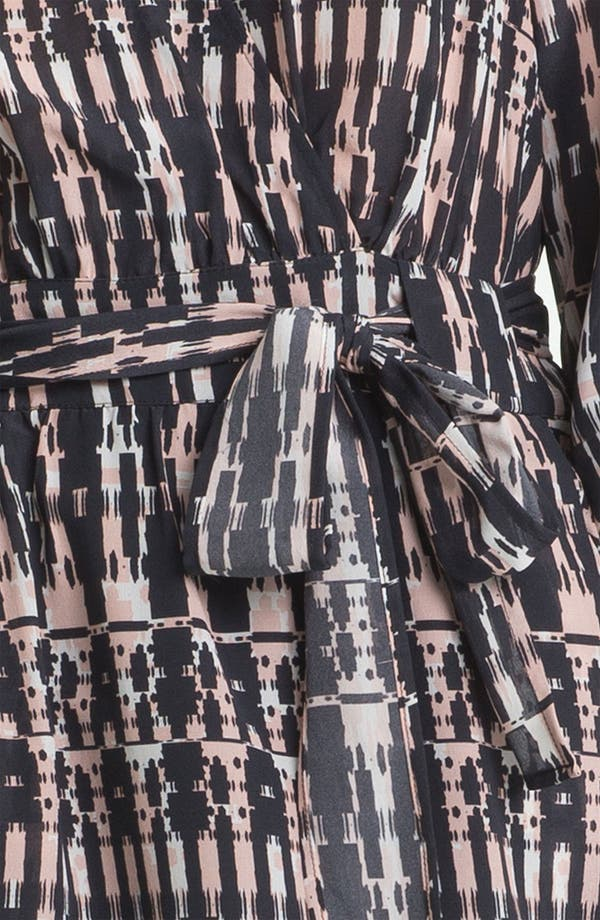 Alternate Image 3  - Presley Skye 'Amy' Silk Faux Wrap Dress