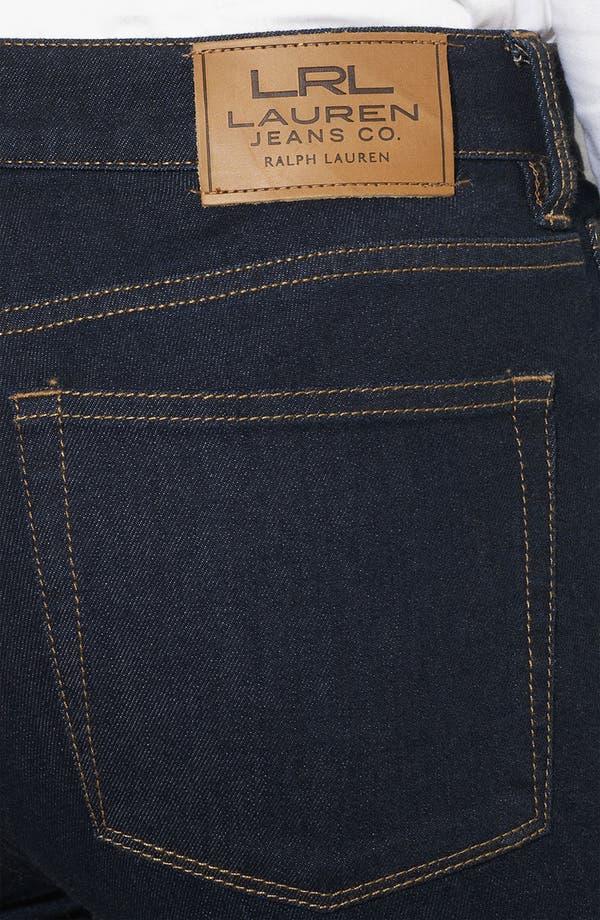 Alternate Image 3  - Lauren Ralph Lauren Slimming Bootcut Jeans (Petite) (Online Only)
