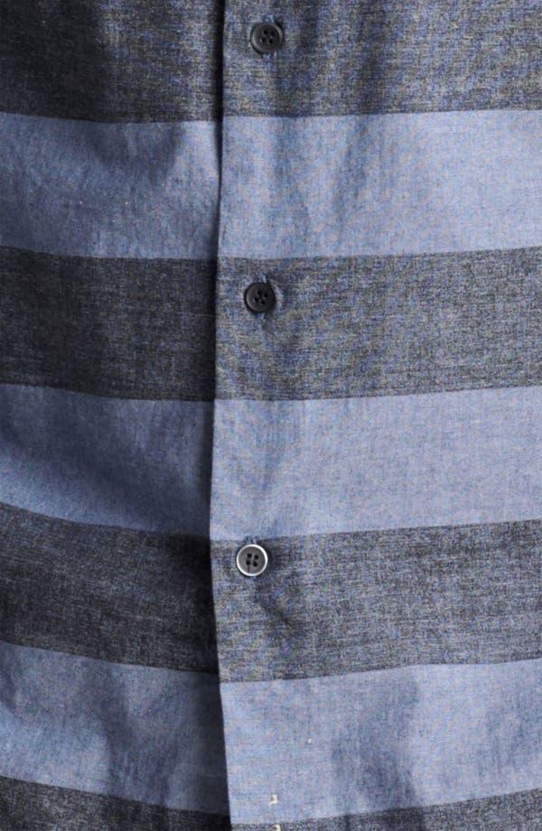Alternate Image 3  - Rogan 'Kaleef' Stripe Chambray Shirt