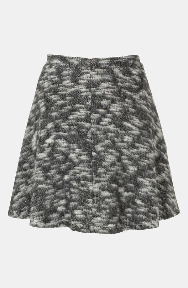 Alternate Image 2  - Topshop Blanket Skater Skirt