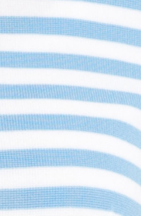 Alternate Image 3  - Exclusively Misook 'Rebecca' Stripe Jacket (Petite) (Online Exclusive)
