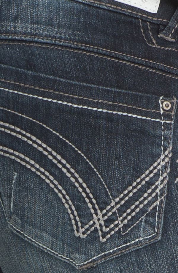Alternate Image 4  - Jolt Skinny Crop Jeans (Juniors)