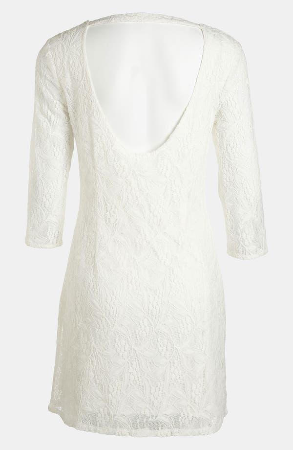 Alternate Image 2  - RBL Lace Shift Dress